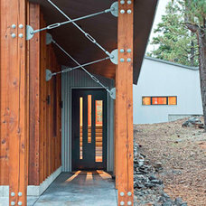 Rustic Exterior by WA design
