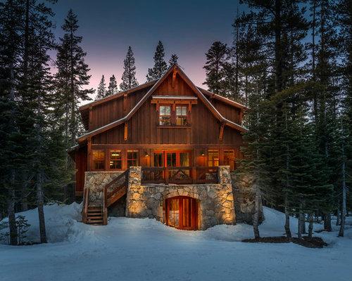 Ski Cabin Houzz
