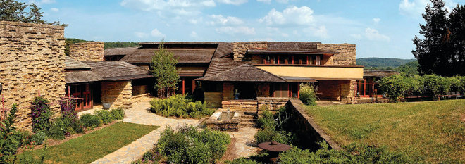 Exterior by Taliesin Preservation, Inc.