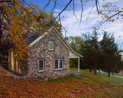 Field Stone Exterior | Houzz