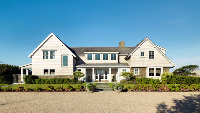 Beach Style Exterior by Hart Associates Architects, Inc.