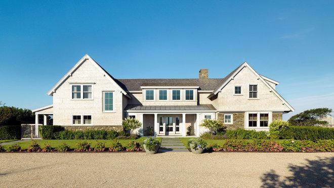 Beach Style Exterior by Hart Associates Architects, Inc.