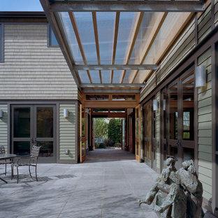 Ispirazione per la facciata di una casa contemporanea