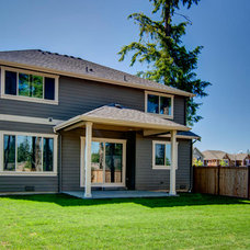 Transitional Exterior by American Classic Homes
