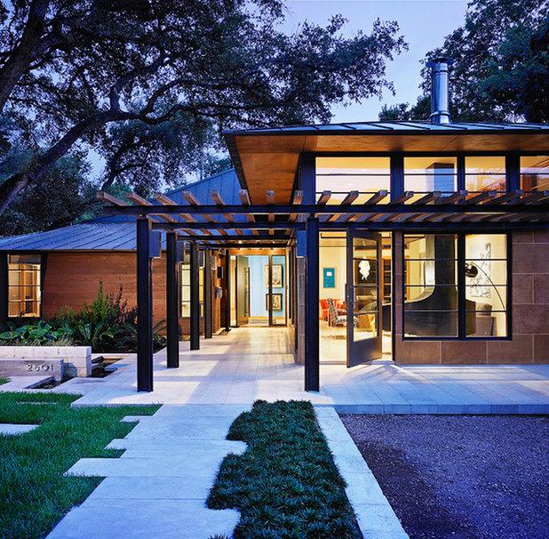 asian exterior by webber studio architects - Austin Home Design