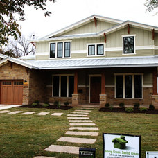 Traditional Exterior by Kelly Wunsch Homes