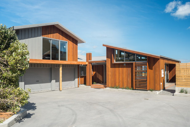 Contemporary Exterior by Redbox Architects
