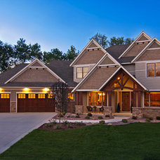 Craftsman Exterior by Creek Hill Custom Homes