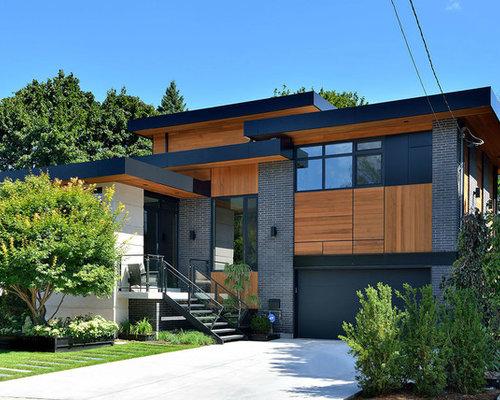 houzz garage door ideas - Fascia Board Home Design Ideas Renovations & s