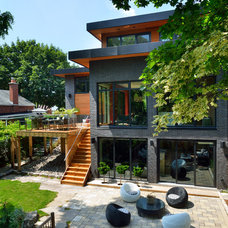 Contemporary Exterior by Upside  Development