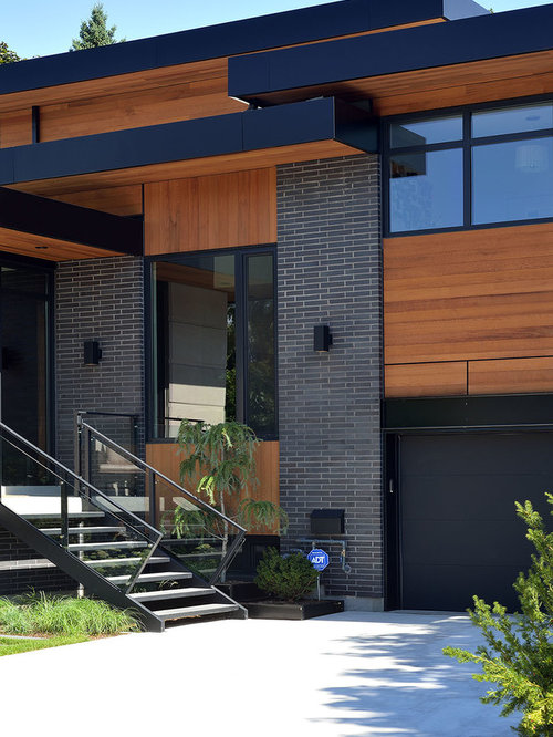 Beautiful garage doors - Fascia Houzz