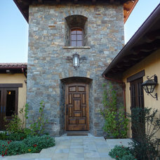 Mediterranean Exterior by Taylor Lombardo Architects