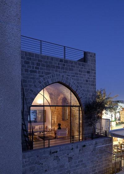 Mediterranean Exterior by Pitsou Kedem Architect