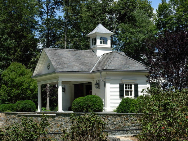 Traditional Exterior by Andrew Nuzzi Architects, LLC