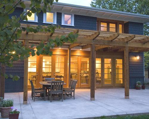 Patio With Pergola Home Design Ideas Renovations Photos