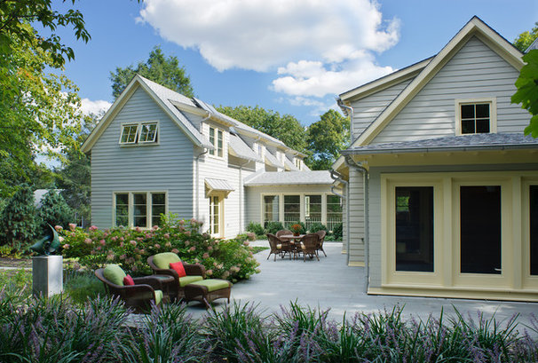 Traditional Exterior by S+H Construction