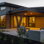 Contemorary Landscape Design Contemporary Exterior