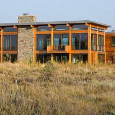 Contemporary Exterior by Nagle Hartray Architecture