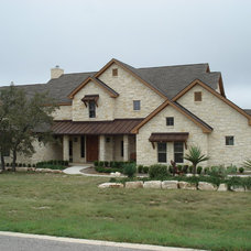 Traditional Exterior by Texas Home Plans