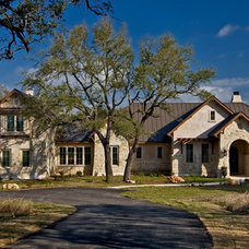 Traditional Exterior by Authentic Custom Homes