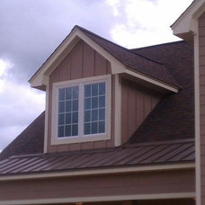 Traditional Exterior by Brothers Custom Works