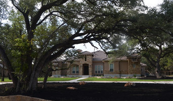 Texas Hill Country Stone and Stucco Home