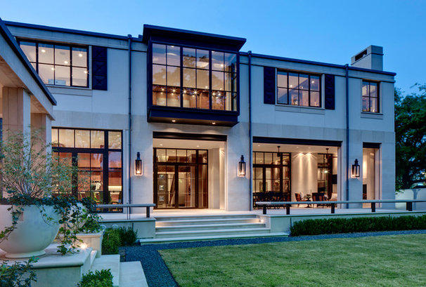 Contemporary Exterior by Domiteaux + Baggett Architects, PLLC