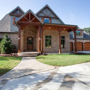 75 Beautiful Rustic Brick Exterior Home Pictures Ideas December 2020 Houzz