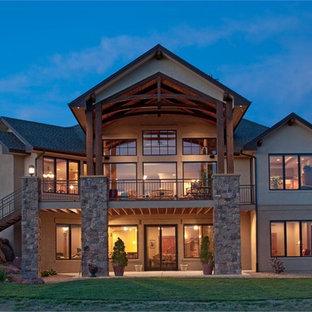 Texas-Style Ranch Home Back Exterior