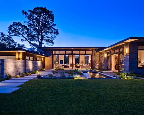 Perfect Example Of A Trendy Wood Exterior Home Design In Santa Barbara