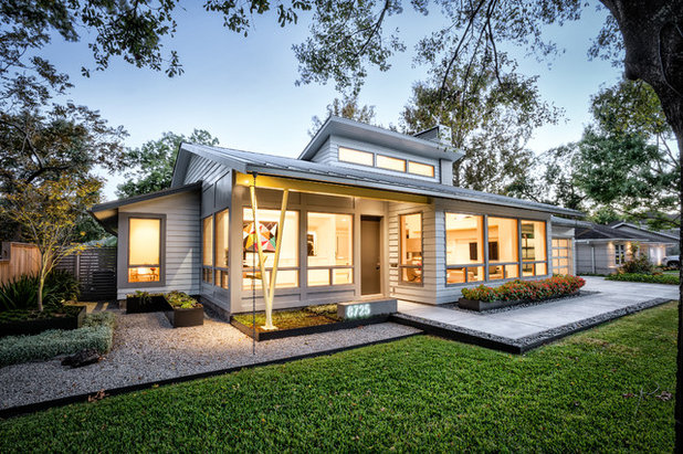 Midcentury Exterior by RD Architecture, LLC