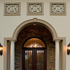 mediterranean exterior by Otero Signature Homes