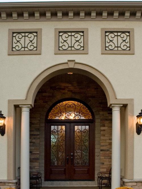 decorative medallions exterior home design ideas remodels photos