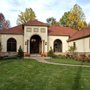 Mediterranean Exterior Home Idea In Cleveland