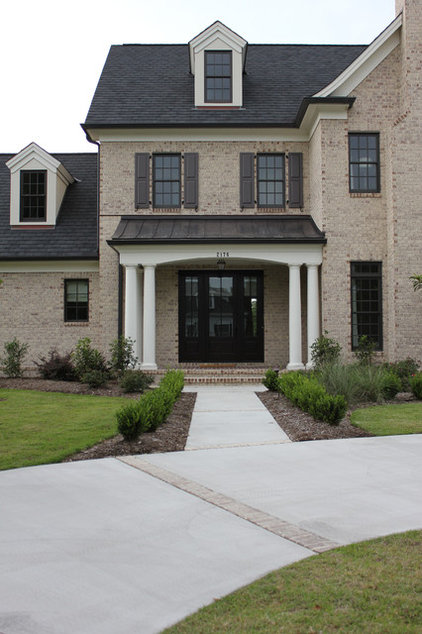 Traditional Exterior by Mark Johnson Custom Homes