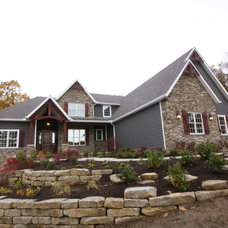 Traditional Exterior by legacy homes of medina inc