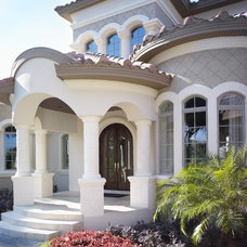 Mediterranean Entry by Alvarez Homes