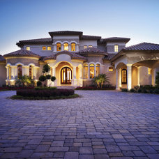 Mediterranean Exterior by Alvarez Homes