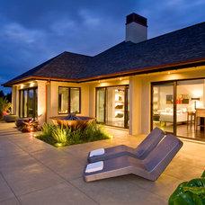 Tropical Exterior by Masonry Design Solutions Ltd
