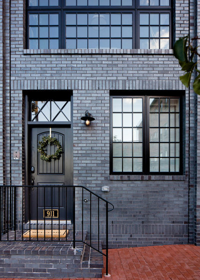 Houzz Tour Heirlooms Meet Industrial Style In A Row House