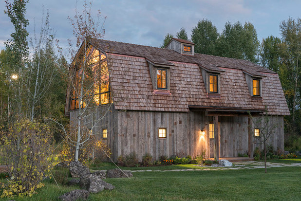 Farmhouse Exterior by CLB Architects