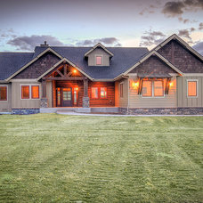 Craftsman Exterior by Aspen Homes
