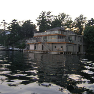 Exempel på ett eklektiskt hus
