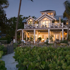 Tropical Exterior by Jordan Design Studio, Ltd.