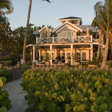 Tropical Exterior by Jordan Design Studio, Ltd.