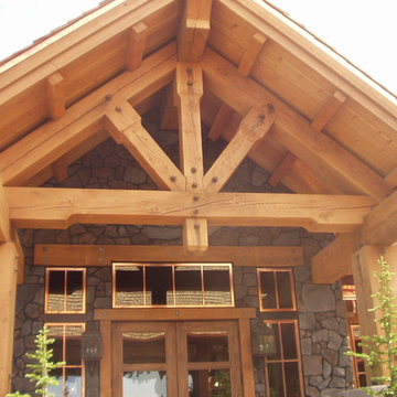 The Club at Black Rock - Timber Frame