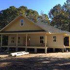 Travis Heights Front Porch Craftsman Exterior