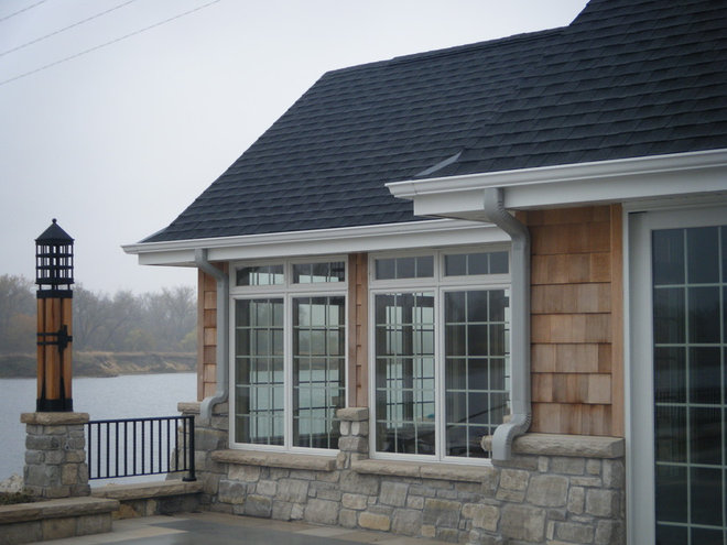 Traditional Exterior by Advanced House Plans