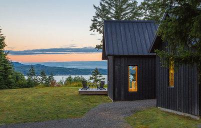 Houzzbesuch: Urlaub wie im dänischen Sommerhaus – am Fjord von Seattle
