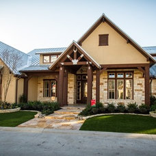Rustic Exterior by Design Tech Homes